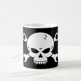 Skull 'n' Tools - Screw Pirate 2 (white) Classic White Coffee Mug