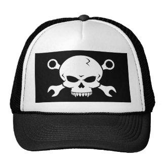 Skull 'n' Tools - Screw Pirate 2 (white) Trucker Hat