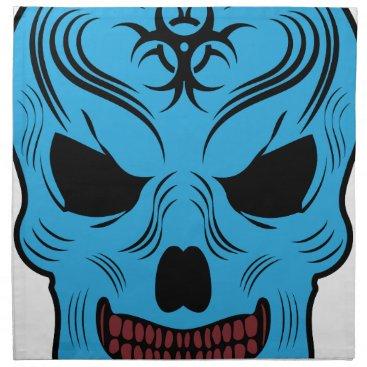 Halloween Themed Skull Napkin