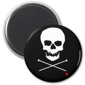 Skull & Needle Magnet