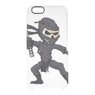 skull ninja cartoon. clear iPhone 6/6S case
