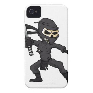 skull ninja cartoon. iPhone 4 cover