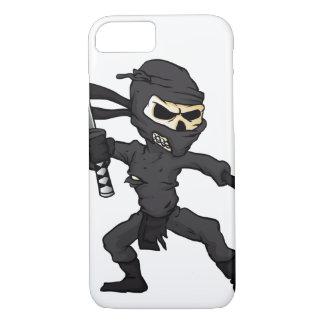 skull ninja cartoon. iPhone 8/7 case