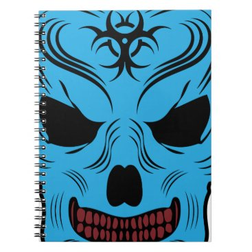Halloween Themed Skull Notebook