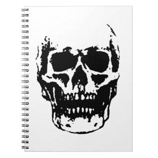 Skull Spiral Notebooks
