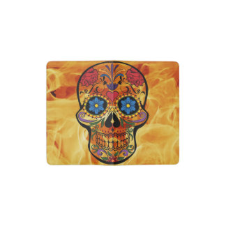 Skull Pocket Moleskine Notebook Cover With Notebook