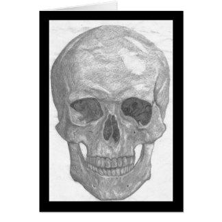 Skull notecard stationery note card
