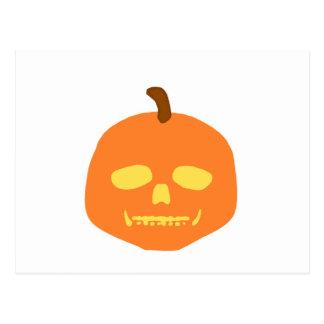 Skull-O-Lantern Postcard