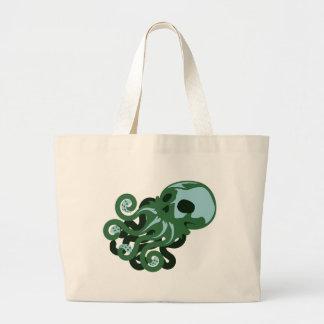 Skull Octopus Bag