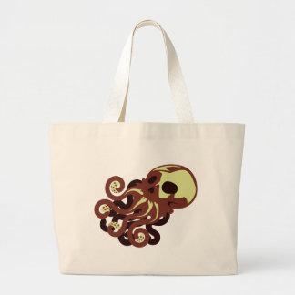 Skull Octopus Bags