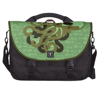 Skull Octopus Laptop Commuter Bag