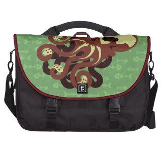 Skull Octopus Laptop Bags