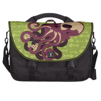 Skull Octopus Commuter Bags