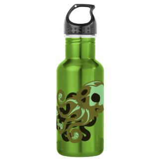 Skull Octopus Stainless Steel Water Bottle