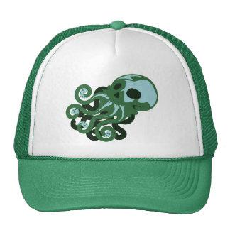 Skull Octopus Trucker Hat