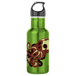 Skull Octopus Water Bottle