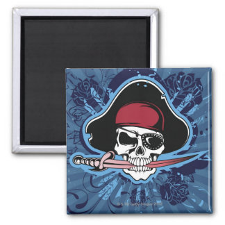 Skull of a Pirate Magnet