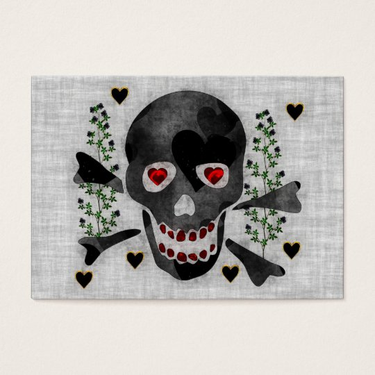 Skull of Hearts Business Card
