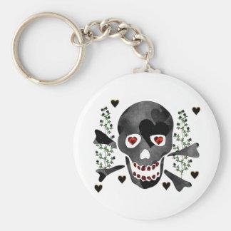 Skull of Hearts Keychain