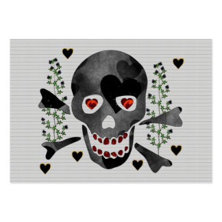 Skull of Hearts Large Business Card