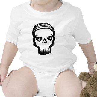 Skull of Hearts Baby Bodysuits