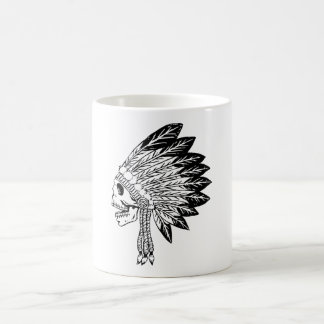 Skull Of Indian Coffee Mug
