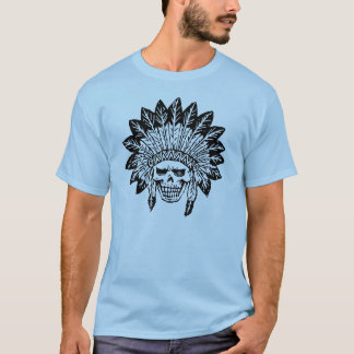 Skull Of Indian T-Shirt