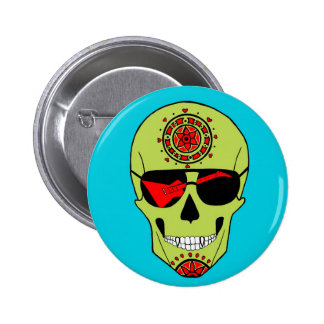 Skull of Rock. Button