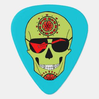 Skull of Rock. Guitar Pick
