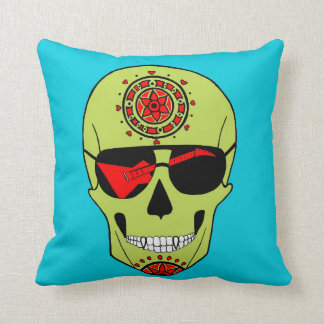 Skull of Rock. Throw Pillow