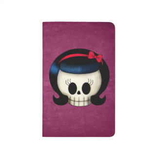 Skull of Rockabilly Girl Journals