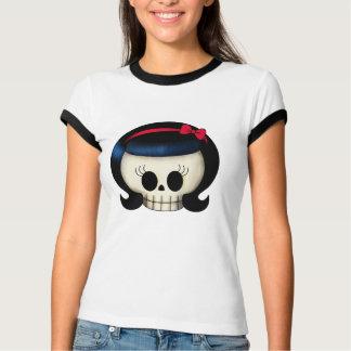 Skull of Rockabilly Girl T-Shirt