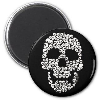 Skull of Skulls Fridge Magnet