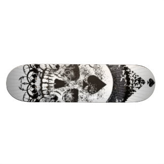 Skull of spades Black Crown Skateboarding Skateboard