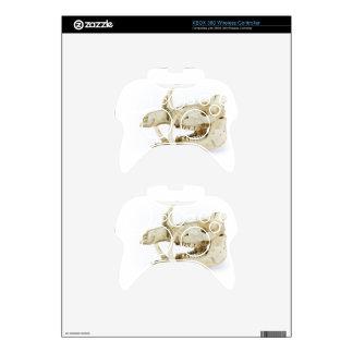 Skull of wild boar xbox 360 controller skins