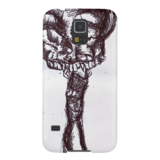Skull on a Stick Galaxy S5 Covers