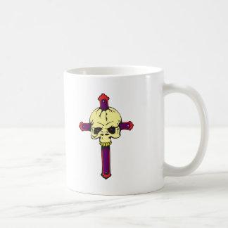 Skull on Cross Coffee Mug