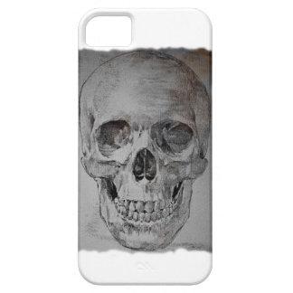 Skull on i-phone case.  Designs of Alex Krasky iPhone SE/5/5s Case