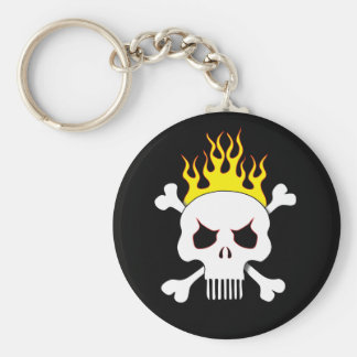 Skull One Key Chain