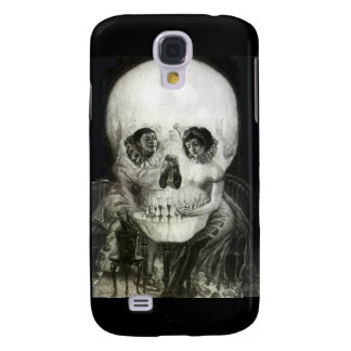 Skull Optical Illusion Samsung Galaxy S4 Case
