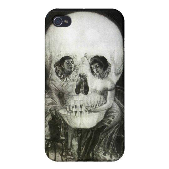 Skull Optical Illusion iPhone 4/4S Case