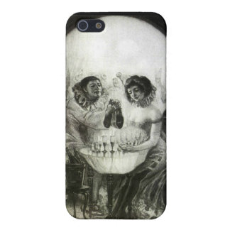 Skull Optical Illusion iPhone SE/5/5s Cover