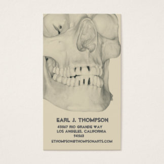 Skull or Teeth Business or Name Card