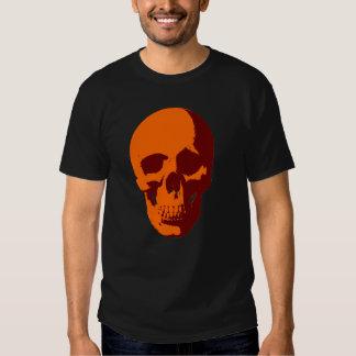 skull orange T-Shirt