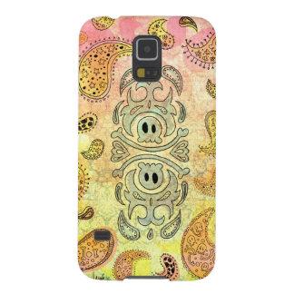 Skull Paisley Galaxy S5 Cover