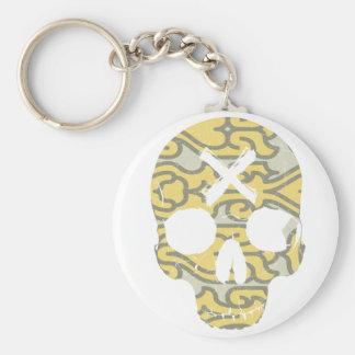 Skull Pattern 2 Keychain