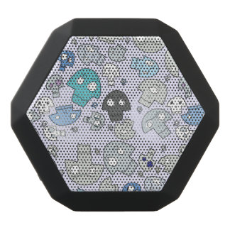 Skull Pattern Black Bluetooth Speaker