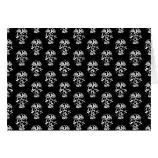 Skull Pattern Card