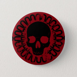 Skull Pattern Halloween Punk Goth Pick Any Color Button
