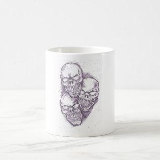 Skull Pencil Sketch Coffee Mug